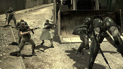 Metal Gear Solid 4: Guns of the  Patriots Screenshot