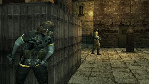 Metal Gear Solid: Portable Ops Screenshot