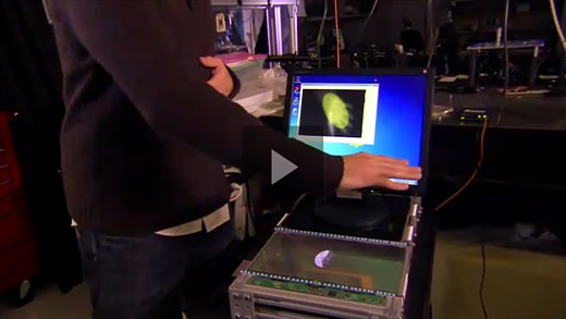"Video: Microsoft Research shows off ""smart interactive displays"""
