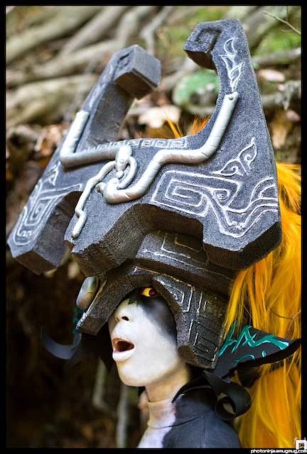 The Legend of Zelda: Twilight Princess - Imp Midna Cosplay