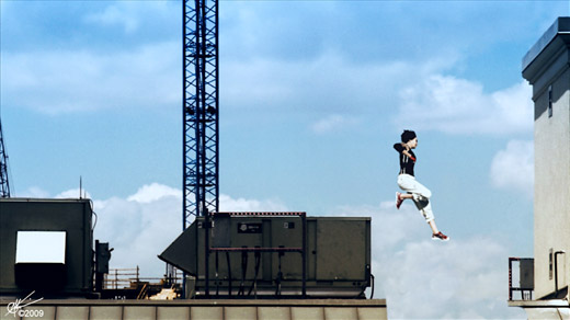Mirror's Edge Live Action Shots - Savage Land Pictures