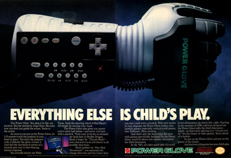 Nintendo Entertainment System Power Glove Image