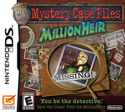 Read review of Mystery Case Files: MillionHeir