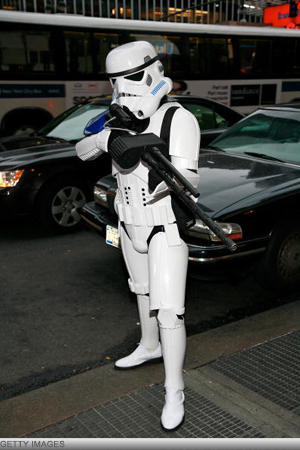 Nerd Alert: Geeks Gone Bad - Storm Trooper