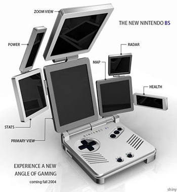 Nintendo going after Apple with next portable?