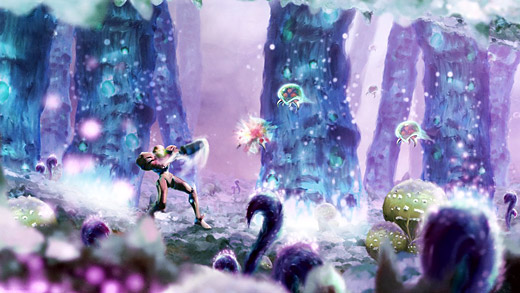 Metroid - Toxic Planet Orioto Fan Art