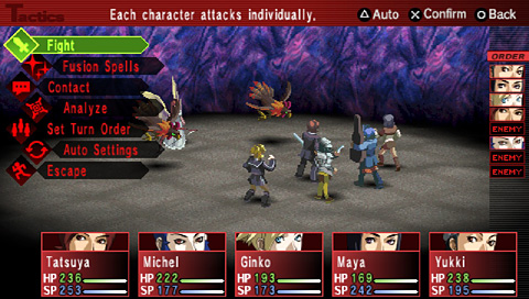 Shin Megami Tensei: Persona 2 Innocent Sin Screenshot