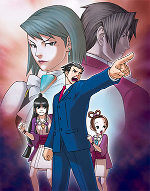Phoenix Wright: Justice For All Art