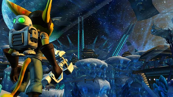 Ratchet & Clank Future: Tools of Destruction Screenshot