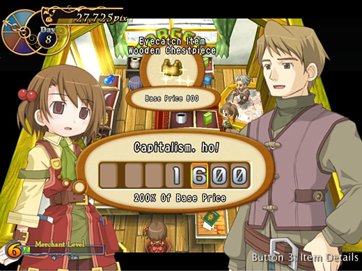 Recettear: An Item Shop's Tale Screenshot