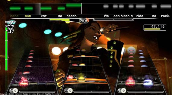Rock Band Screenshot