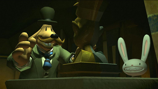 Sam & Max: The Devil's Playhouse -- The Tomb of Sammun-Mak Screenshot