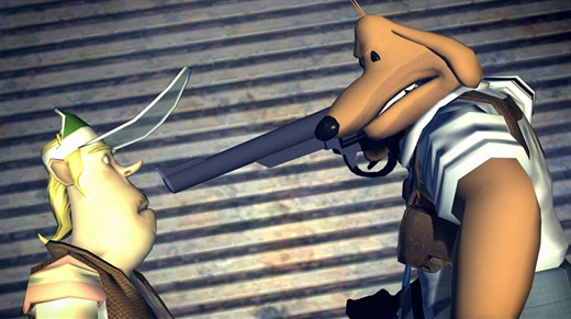 Sam & Max: The Devil's Playhouse — They Stole Max's Brain! Screenshot