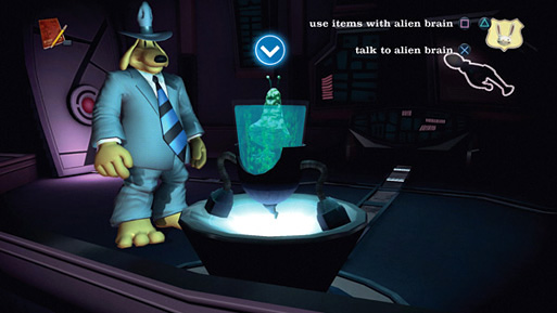 Sam & Max: The Devil's Playhouse — The Penal Zone Screenshot