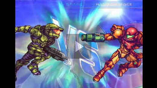 Card Sagas Wars: Samus vs Master Chief