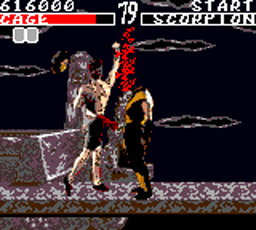 Mortal Kombat (Sega Game Gear)