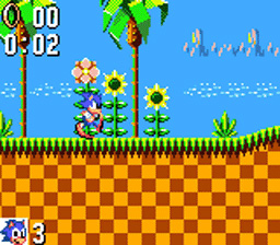 Sonic The Hedgehog (Sega Game Gear)