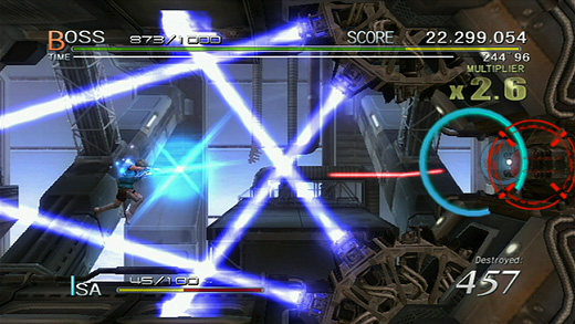 Sin & Punishment: Star Successor Screenshot