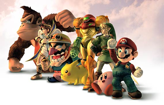 Super Smash Bros. Brawl Artwork