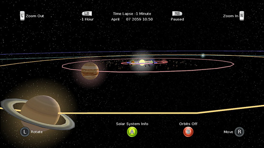 Solar System 4D Screenshot