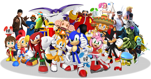 Sonic & Sega All-Stars Racing Art