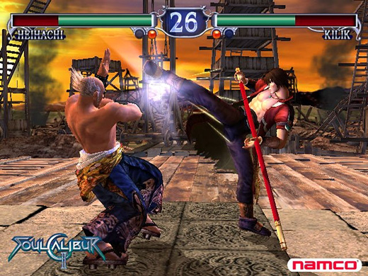 Soul Calibur II Screenshot