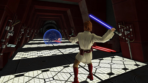 Star Wars Kinect Screenshot