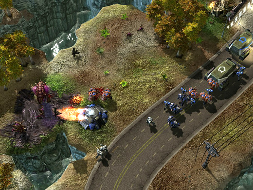starcraft ii screenshot 05 - Wings of Liberty Review – GameCritics.com