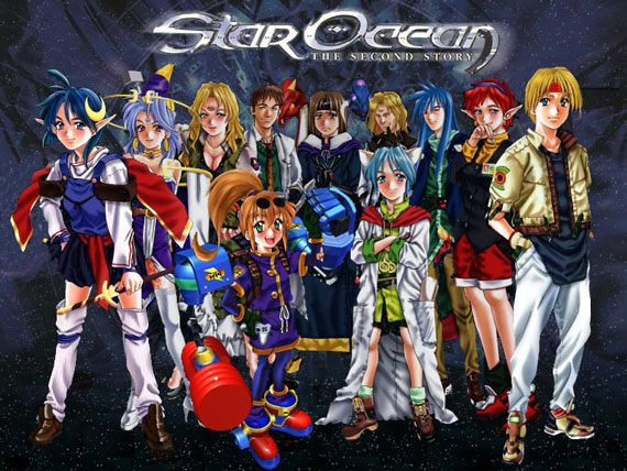 Star Ocean Second Story Art