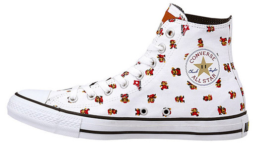 Super Mario-themed Converses are Japan only