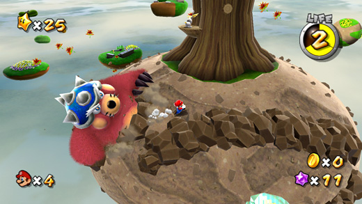 Super Mario Galaxy Screenshot (click here for more)