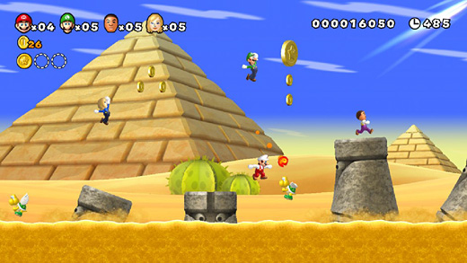 New Super Mario Bros. Mii (Wii U) Screenshot