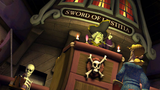 Tales of Monkey Island Chapter Four: The Trial and Execution of Guybrush Threepwood Screenshot
