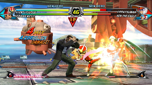 Tatsunoko vs. Capcom Screenshot