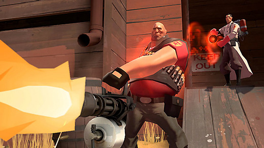 Team Fortress 2 (Heavy) Screenshot