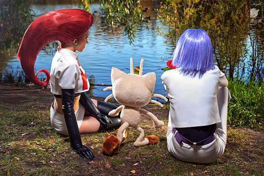 Cosplay: Pokemon's Jesse and James (Team Rocket)
