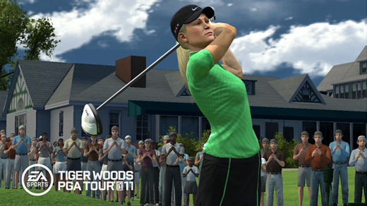 Tiger Woods PGA Tour 2011 Screenshot
