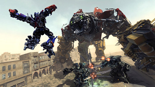 Activision's Transformers Revenge of the Fallen PS3 Screenshot