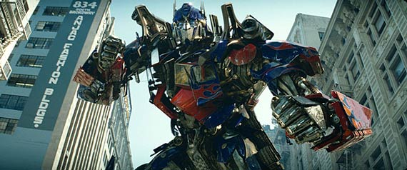 Optimus Prime in Transformers: The Movie