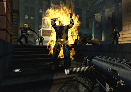 Urban Chaos Screenshot