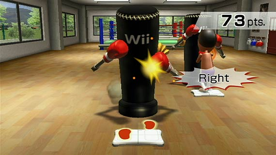 Wii Fit Boxing Screenshot