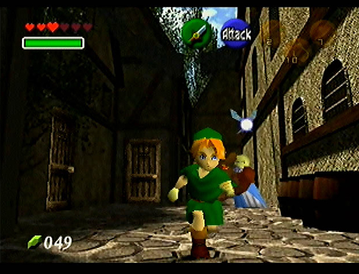 The Legend of Zelda: Ocarina of Time Screenshot