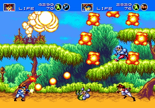 3D Gunstar Heroes Review Screenshot