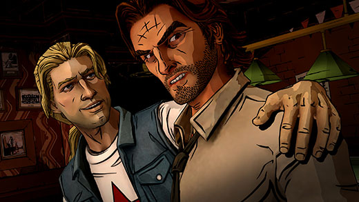 Wolf Among Us Episode 3: A Crooked Mile Review Screenshot