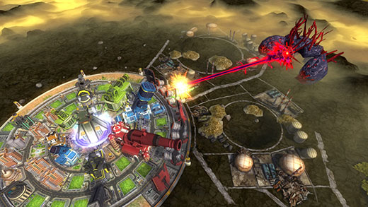 Aegis of Earth: Protonovus Assault Review Screenshot