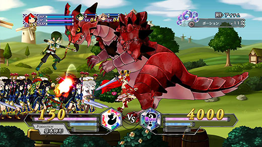 Battle Princess of Arcadias Review Screenshot