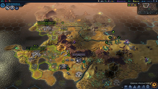 Sid Meier's Civilization: Beyond Earth Review Screenshot