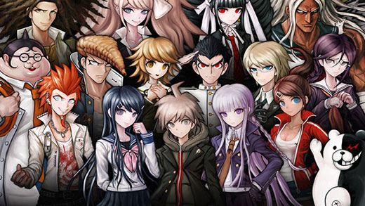 Danganronpa Review Screenshot