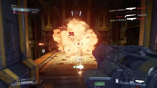 how to change hud on doom multiplayer