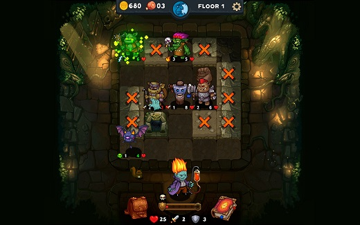 Dungelot Review Screenshot